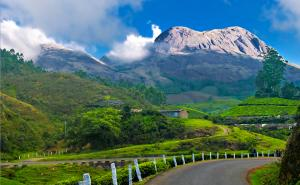 Munnar - Known for its tea plantations