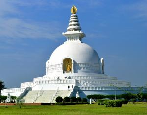 Lumbini - Monastary of World Peace